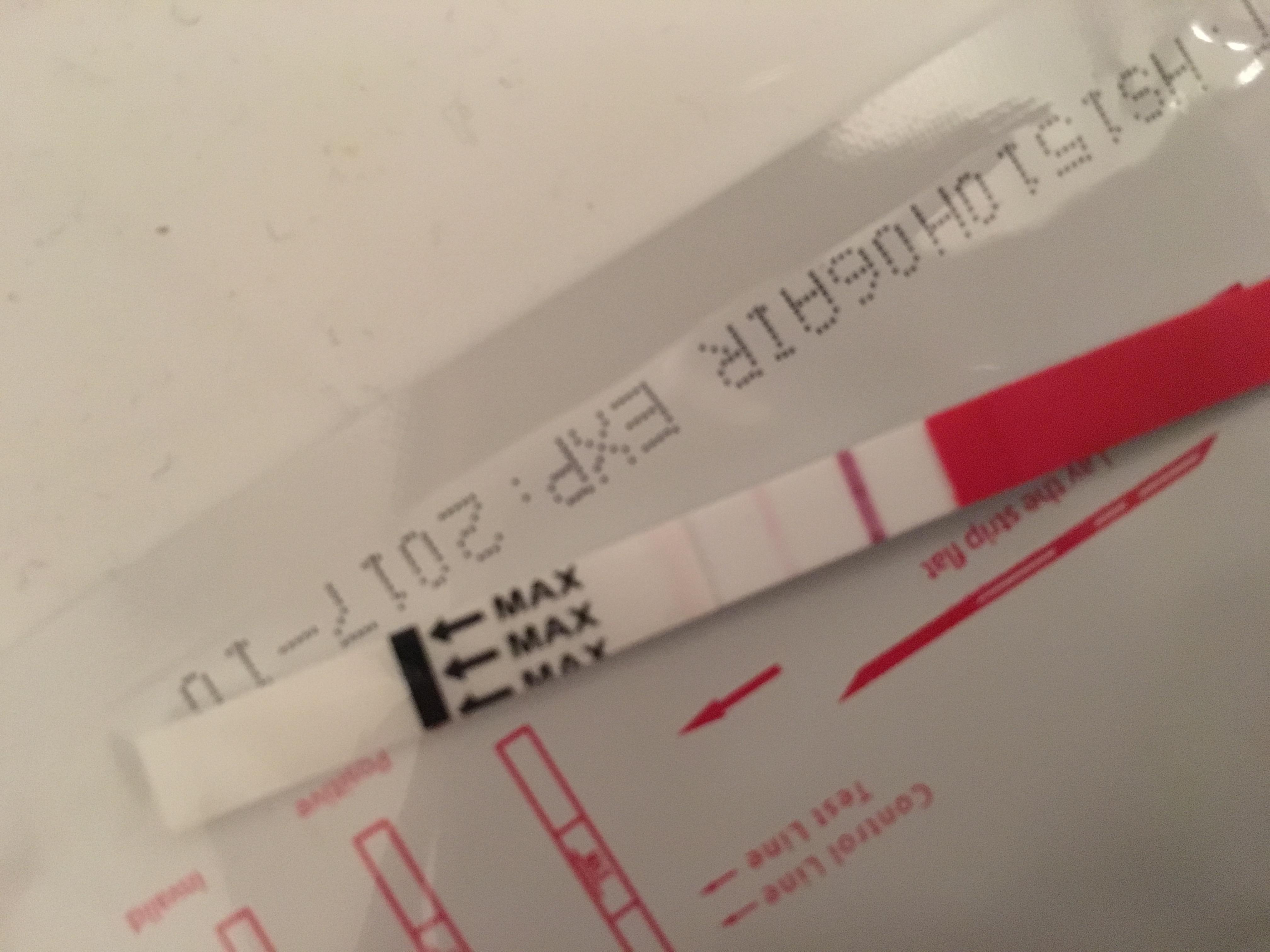 2 streck graviditetstest